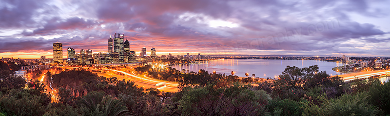 Perth Sunrise, 27th June 2013
