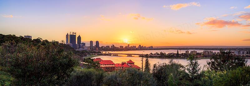 Perth Sunrise, 13th August 2013