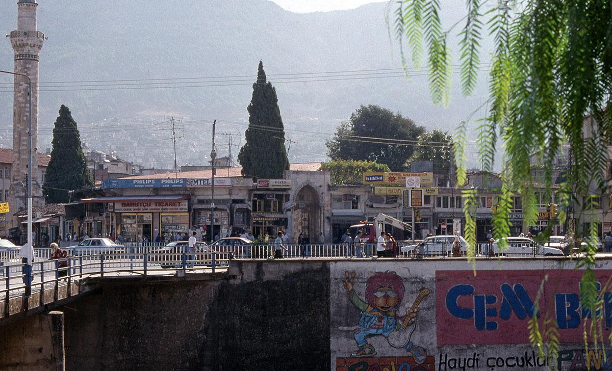 Antakya bridge in centre