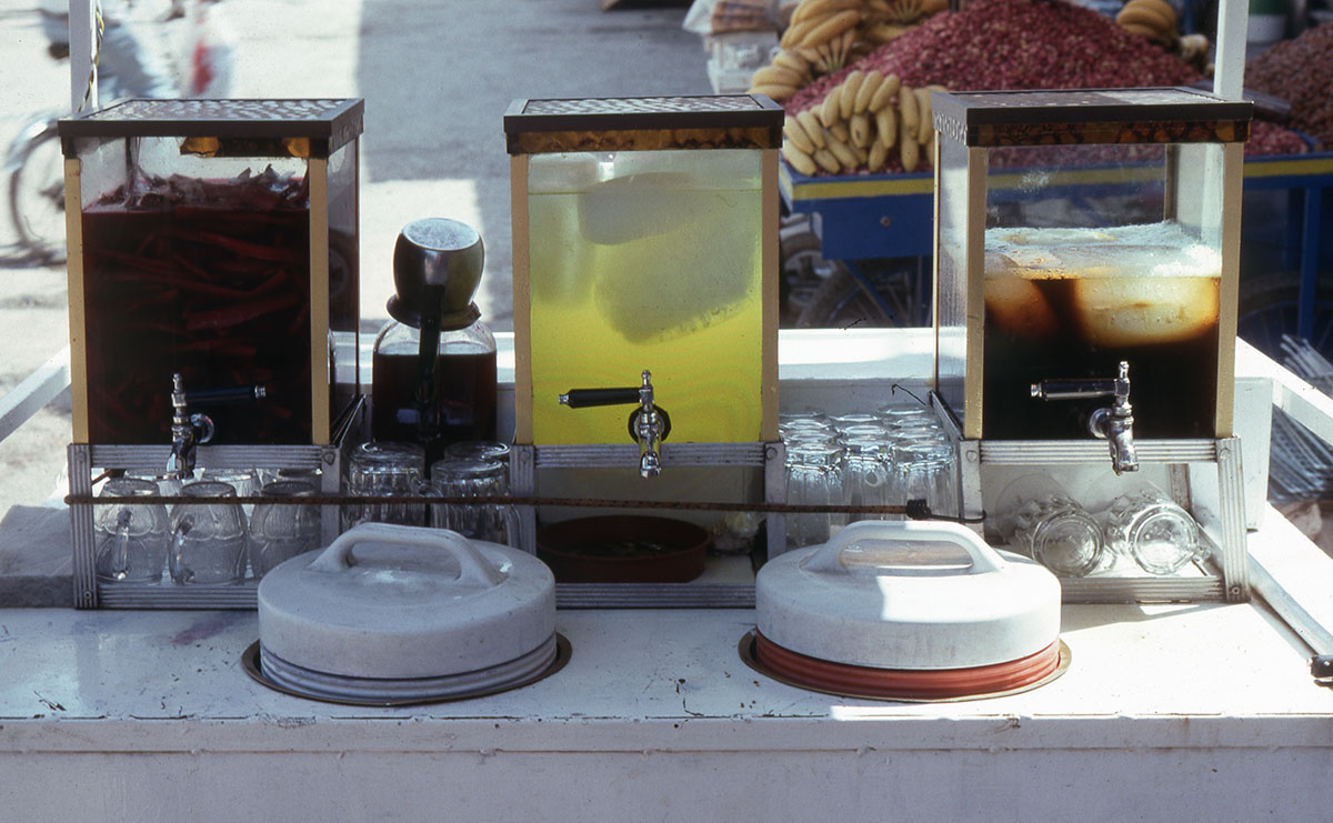 Antakya refreshments cart