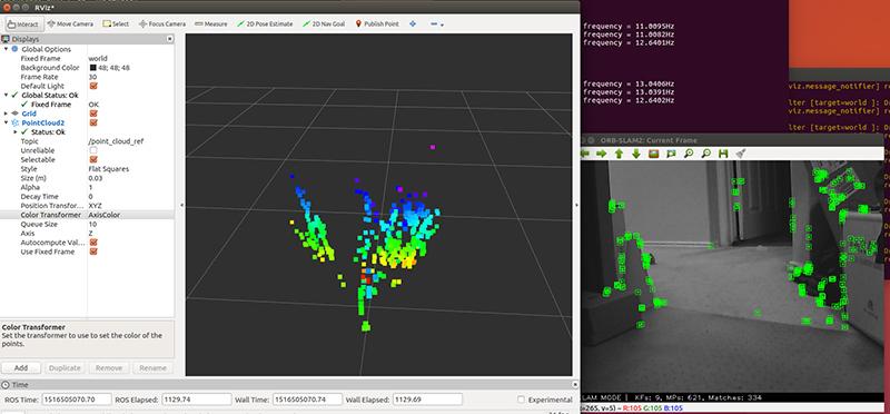 ORB_SLAM2 cuda enhanced running on a TX2 - NVIDIA Developer Forums