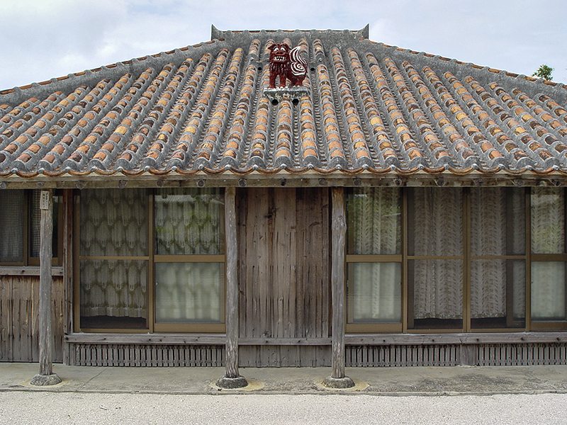 Traditional house, Taketomi Island