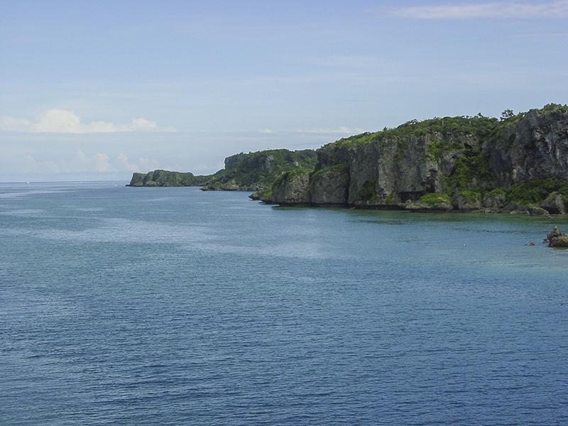 Miyagijima cliffs