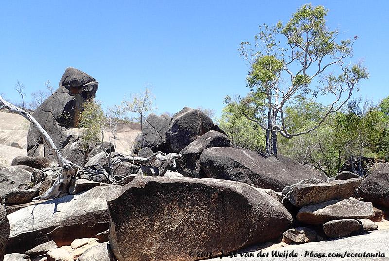 Boulders at Granite Gorge
