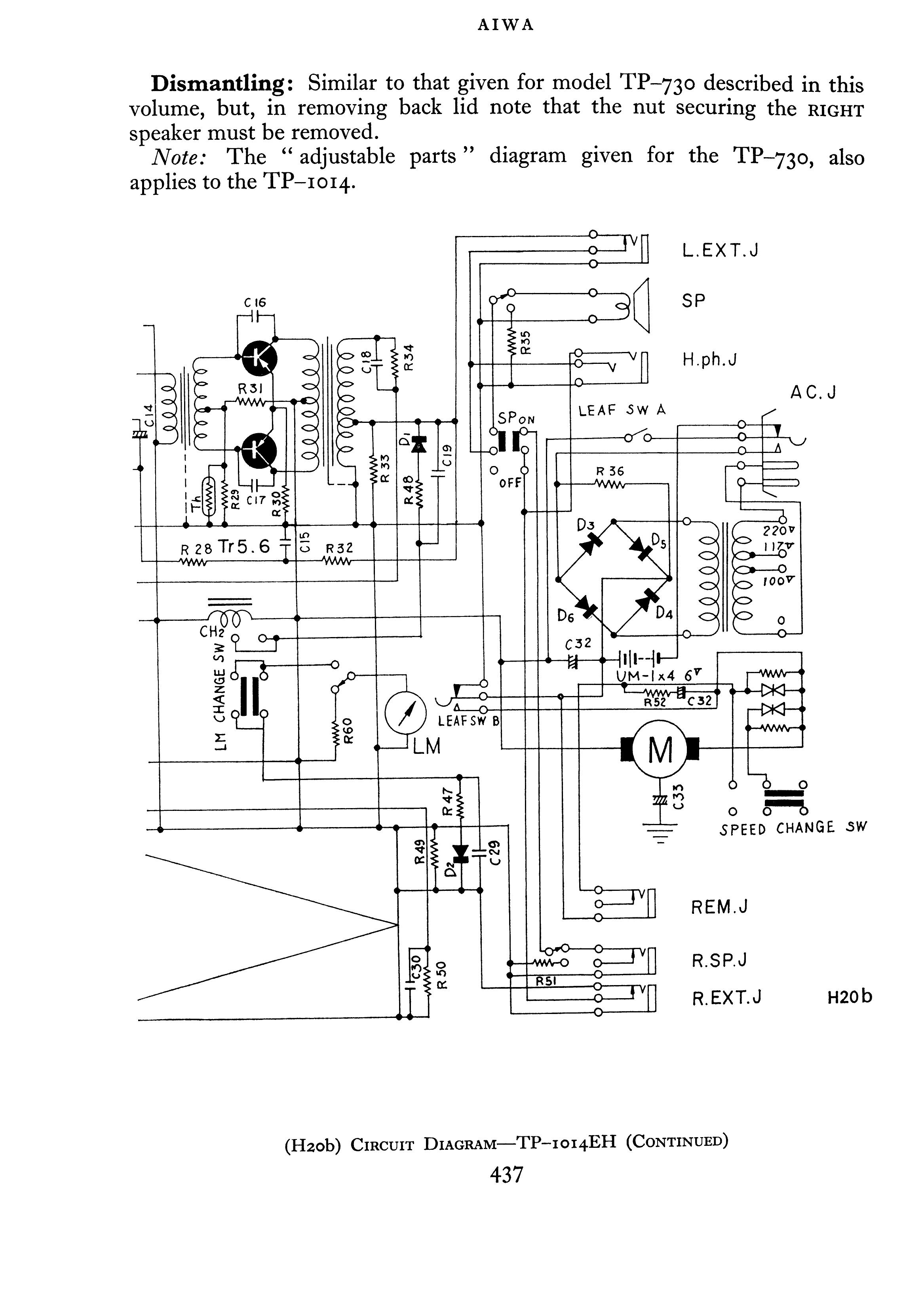 Antique Radio Forums View Topic Aiwa Tp 1014 Schematic Anyone Wiring Diagram B Http A4pbasecom O10 56 215056 1 166 K6xwb