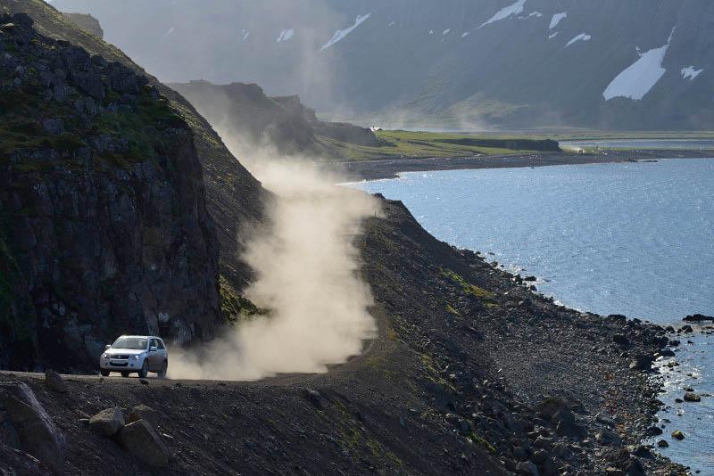 Road 643 to Djúpavik