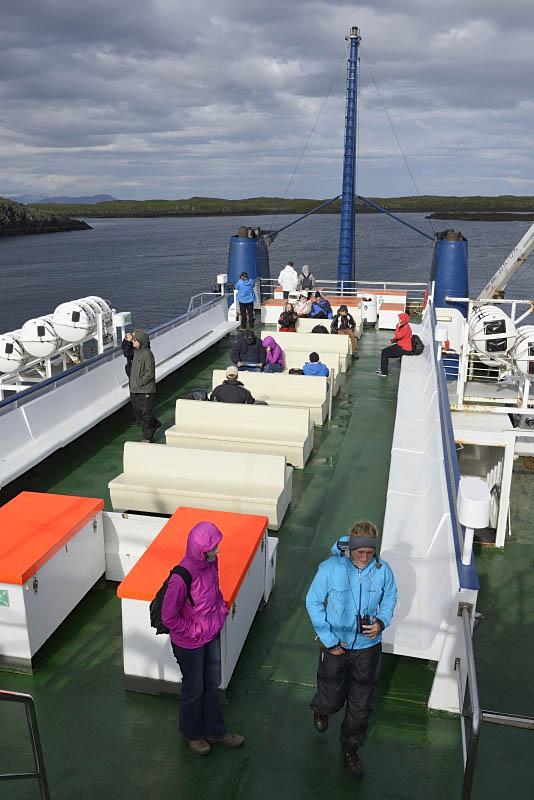 Ferry at Stykkishólmur