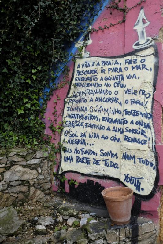 Cascais Graffiti, Portugal