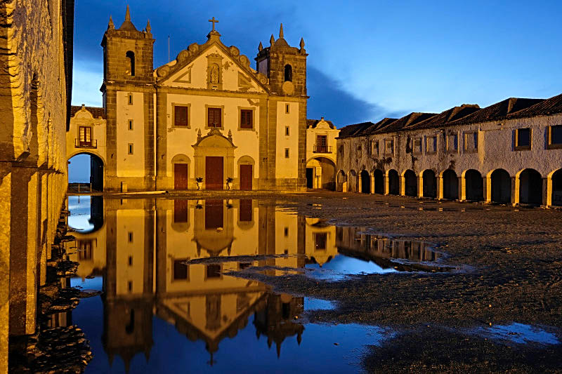 Church at Cape Espichel, Portugal