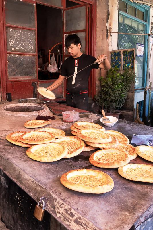 Baking Nang Uyghur Bread