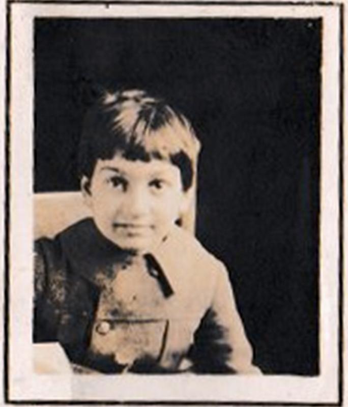 School photograph of my Uncle Nunzio