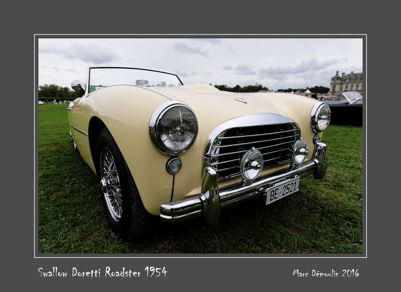 SWALLOW DORETTI Roadster 1954 Chantilly - France