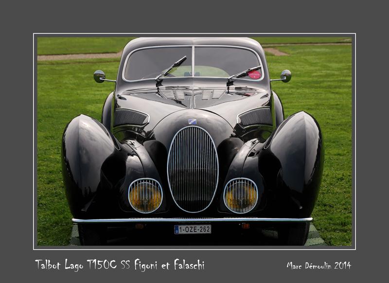 TALBOT LAGO T150C SS  Figoni et Falaschi Chantilly - France