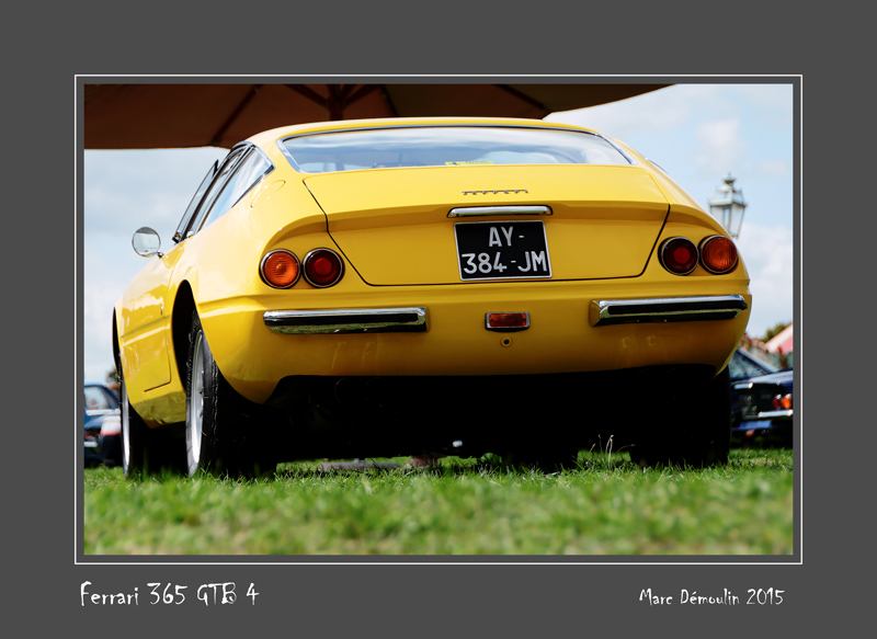 FERRARI 365 GTB 4 Chantilly - France