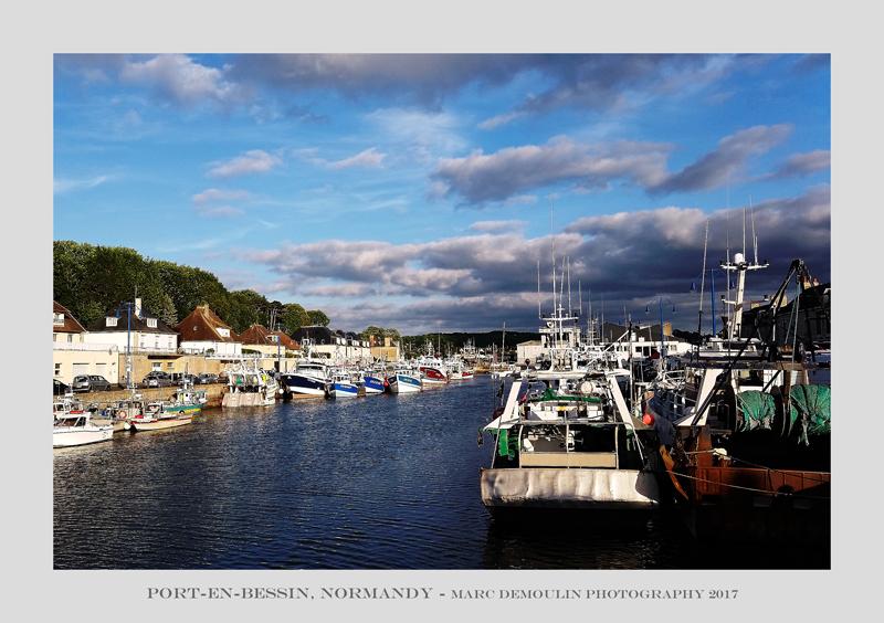 Normandy, Port-en-Bessin