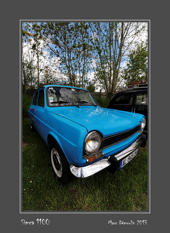 SIMCA 1100 Bernay - France