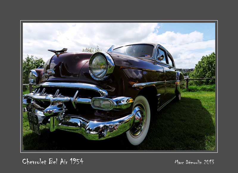CHEVROLET Bel Air 1954 Bernay - France
