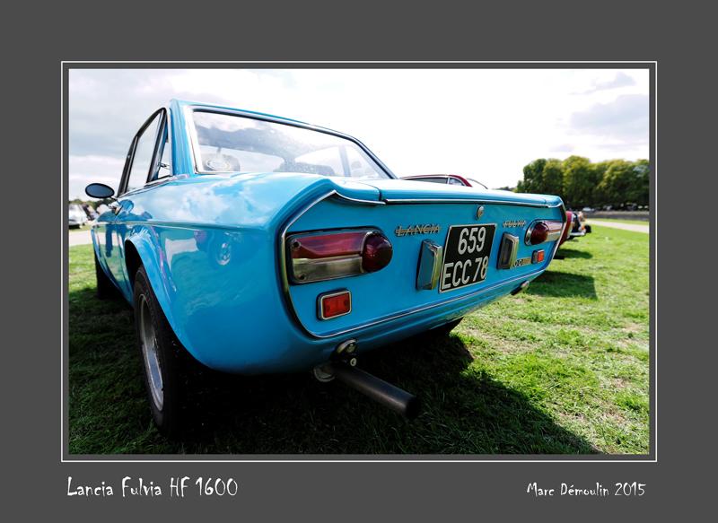 LANCIA Fulvia HF 1600 Chantilly - France