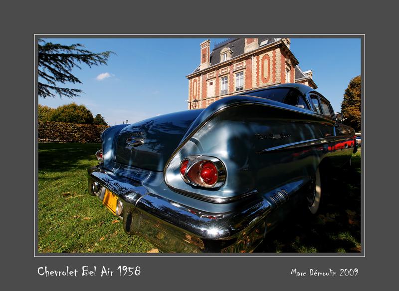 CHEVROLET Bel Air 1958 Ecquevilly - France
