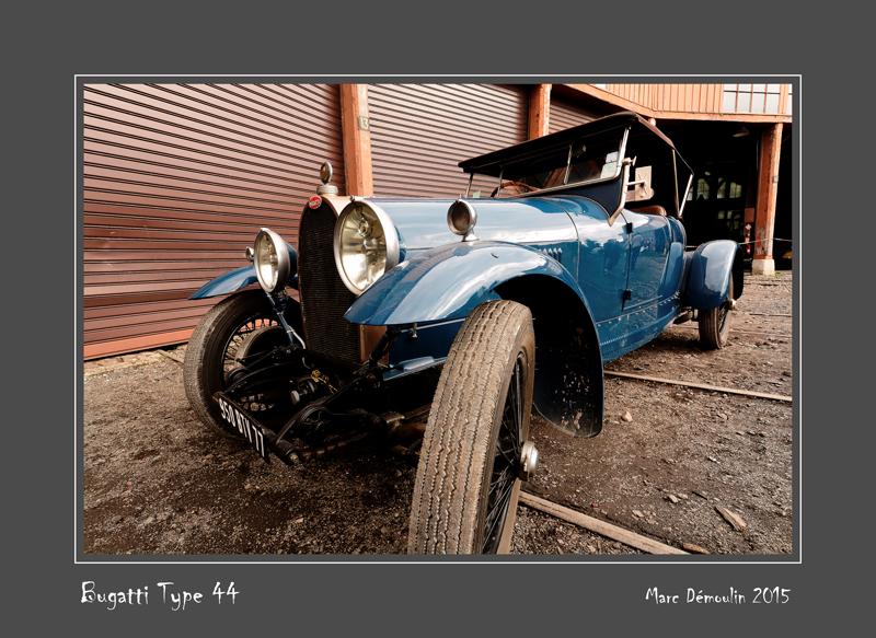 BUGATTI Type 44 Longueville - France