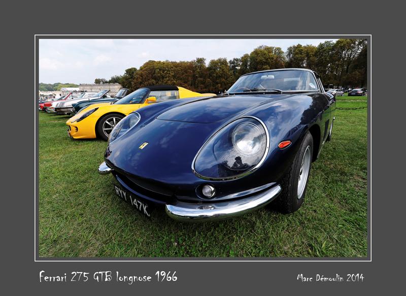 FERRARI 275 GTB Longnose 1966 Chantilly - France