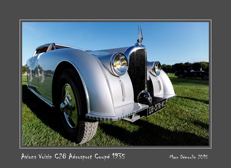 AVIONS VOISIN C28 Aérosport Coupé 1935 Chantilly - France