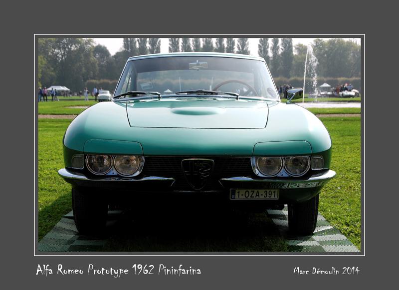 ALFA ROMEO Prototype 1962 Pininfarina Chantilly - France