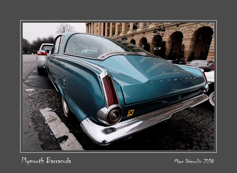 PLYMOUTH Barracuda Paris - France