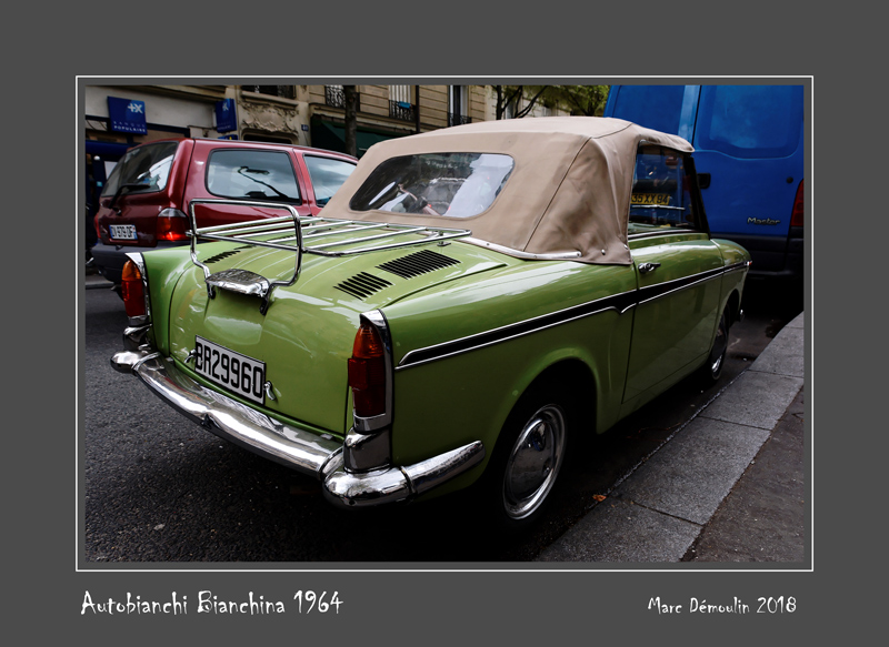 AUTOBIANCHI Bianchina 1964 Paris - France