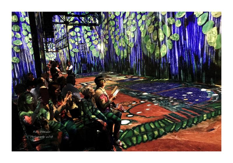 Light Show in lAtelier des Lumières Paris 2018 - 10