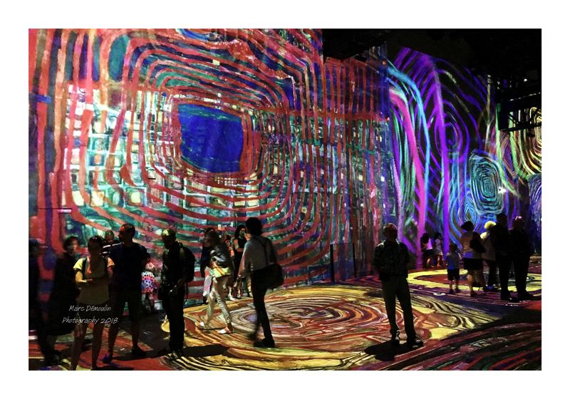 Light Show in lAtelier des Lumières Paris 2018 - 15