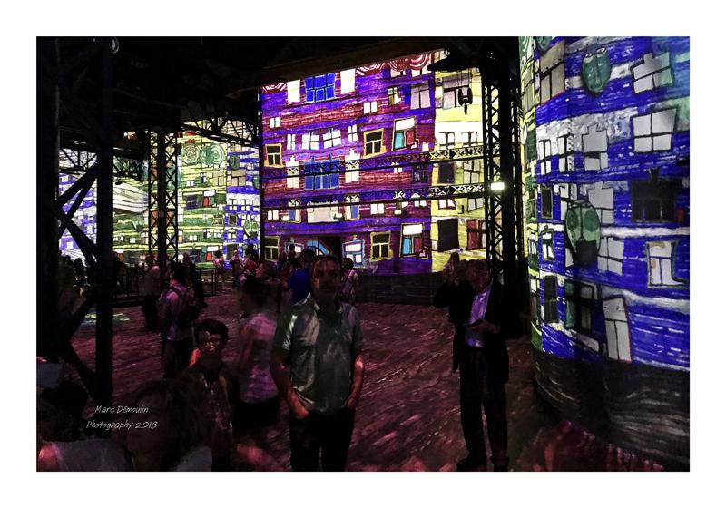 Light Show in lAtelier des Lumières Paris 2018 - 22