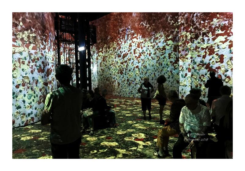 Light Show in lAtelier des Lumières Paris 2018 - 25