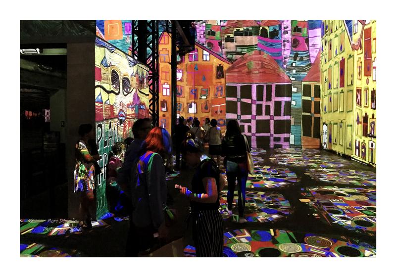 Light Show in lAtelier des Lumières Paris 2018 - 28