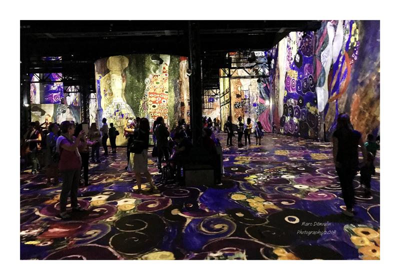 Light Show in lAtelier des Lumières Paris 2018 - 33