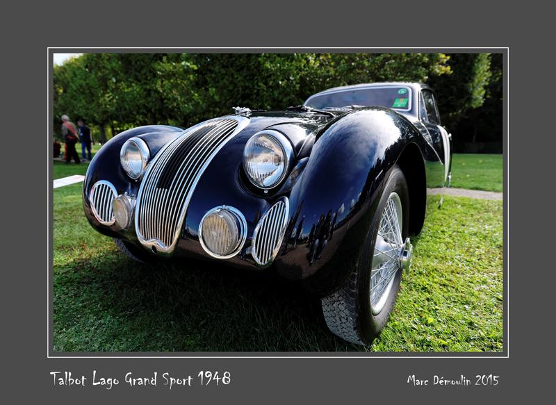 TALBOT LAGO Grand Sport 1948 Chantilly - France