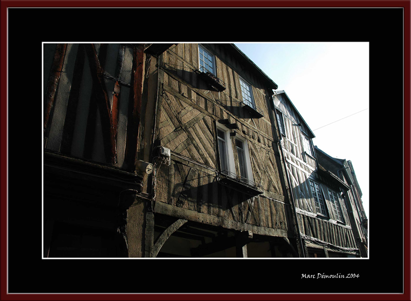 In a street of Bernay