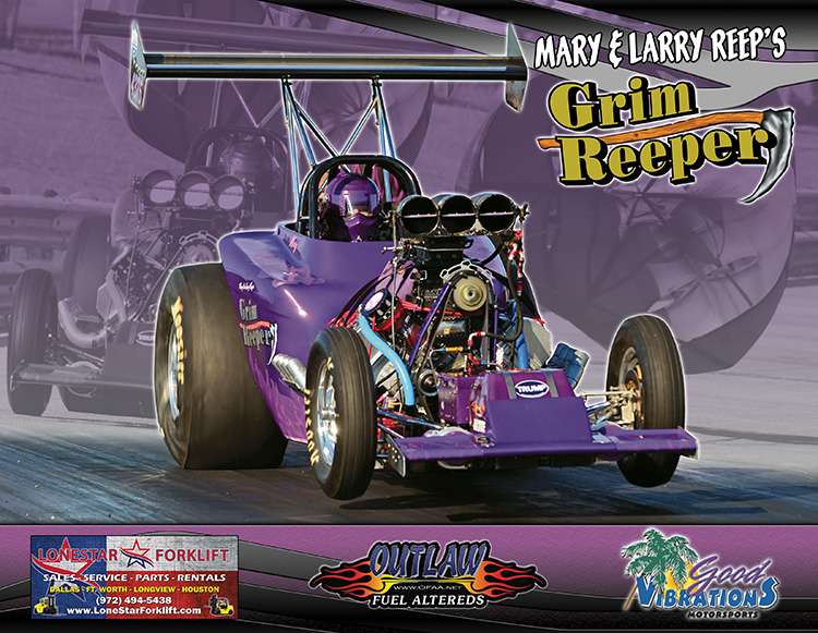 Mary Reep Grim Reeper Outlaw Fuel Altered 2017