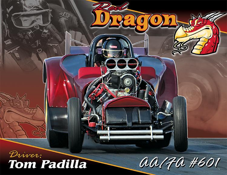 Tom Padilla Red Dragon AA/FA 2017