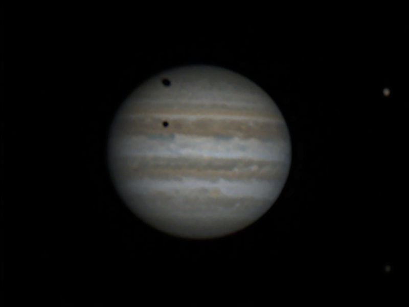 Jupiter with Double Shadows