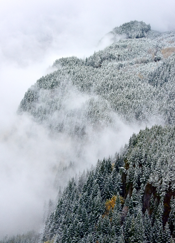 Fall Weather in Cascade Mountains 362