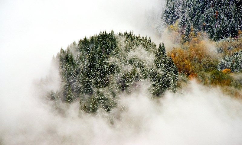 Fall Weather in Cascade Mountains 331