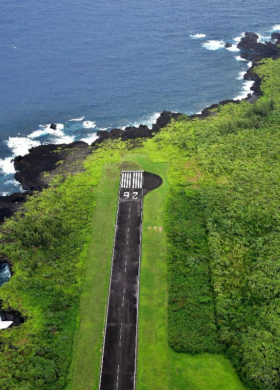 Hana airport runway 26, Hana, Hawaii 222