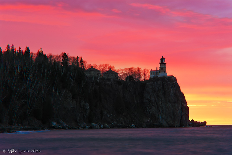 Split Rock lighthouse glorious mornings