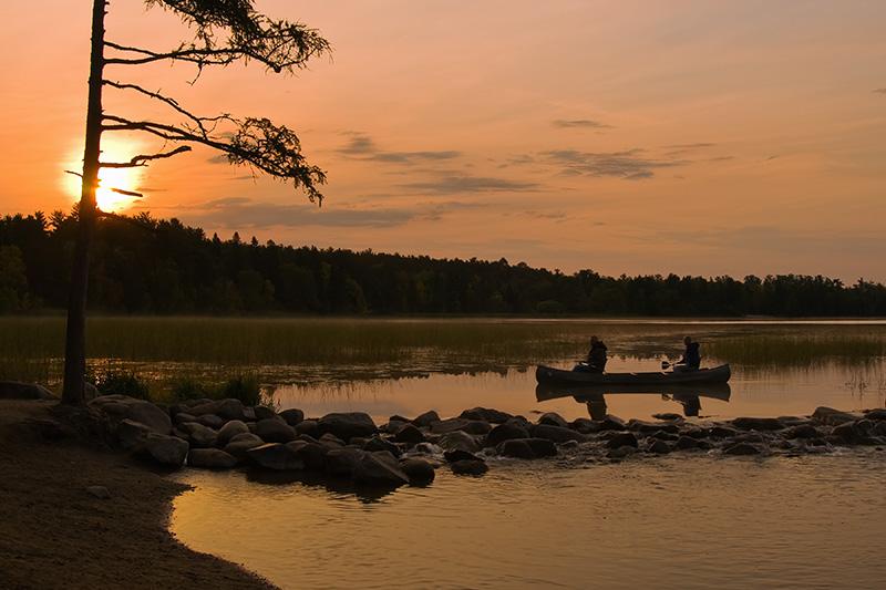 Headwaters canoers