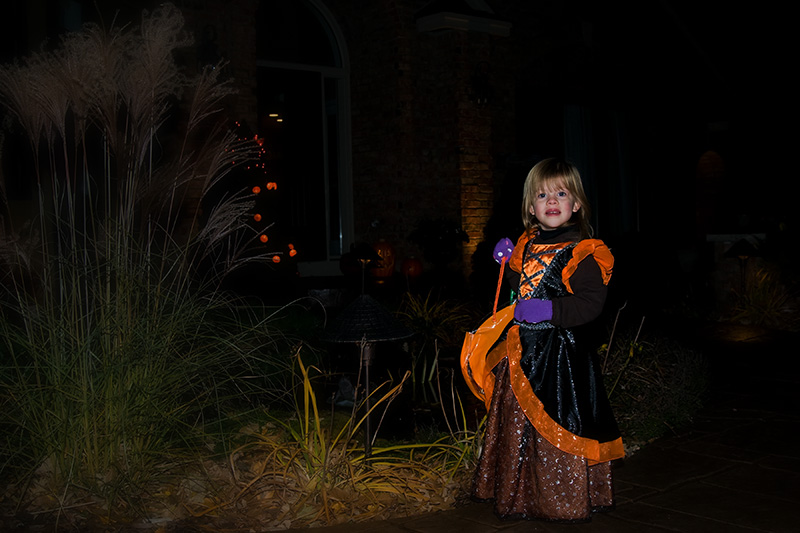 My good witch on Halloween
