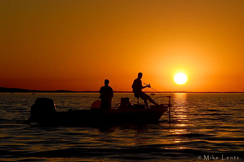 Sunset on Lake Mille Lacs