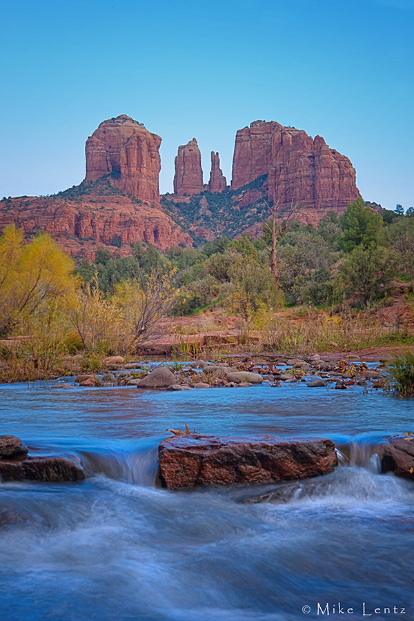 Cathedral Rock stream
