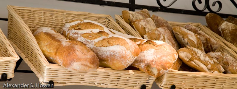 Warm French bread