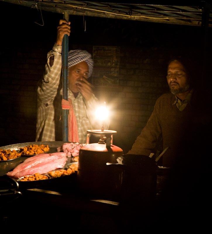 Night food in the Punjab